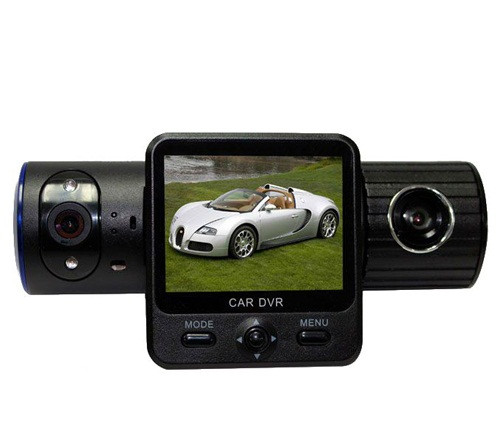 """Автомобильный видеорегистратор на 2 камеры Х 6000 GPS, экран 2"""", запись скорости, G-Sensor, вакуумная присоска - Интернет магазин «Наш базар» быстро, доступно и качественно в Киеве"""