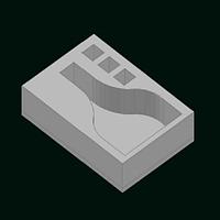 Упаковка из пенопласта-сувенирный короб