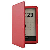 Обложка чехол Walker для PocketBook Ultra (650) красный