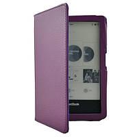 Обложка чехол Walker для PocketBook Ultra (650) фиолетовый