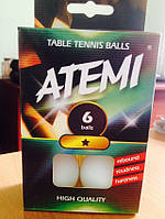 М'ячик для настільно тенісу ATEMI *(1шт-40мм)