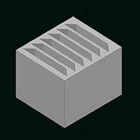 Упаковка из пенопласта для тарелок