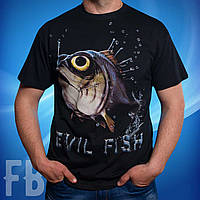 Футболка для рыбаков Рыба 3D / Evil Fish