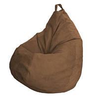 Отличный подарок и украшение любого интерьера, кресло-груша Монтана Choco