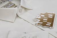 Біла шкільна сорочка з комірцем для хлопчика