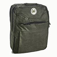 Сумка-рюкзак Fashion трансформер 14 л зеленый 50161