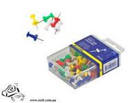 Кнопки канцелярские BuroMax ВМ.5150 цветные 50шт