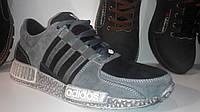 Кроссовки Adidas EQT Running Guidance 93 NMD (серо черные), фото 1