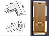 Упаковка из пенопласта для дверей и плит МДФ