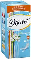 Гигиенические прокладки на каждый день Discreet Deo Весенний бриз 60 шт.