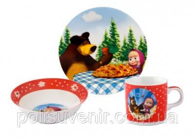 Набір дитячого посуду з 3 предметів