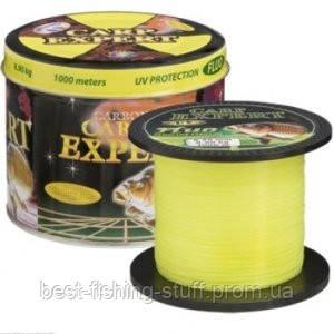 Леска FLUO Желтая Carp Expert Energofish 0.5mm 1000м