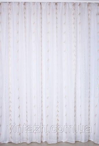 Тюль на тесьме с фото