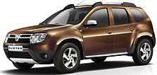Кенгурятники на Dacia Duster (с 2010--)