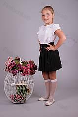 Юбка детская школьная 515-217 оптом Украина