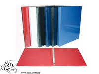 Папка Панорама PANTA PLAST А4/4D/25 PVC, т.-синій