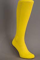 Гетры футбольные лимонные однотонные (плотные), фото 1
