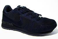 Женские кроссовки Nike, текстиль, синий, Р. 36 38