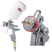 Краскораспылитель пневматический профессиональный HVLP II 1,4 мм 600 мл INTERTOOL PT-0100