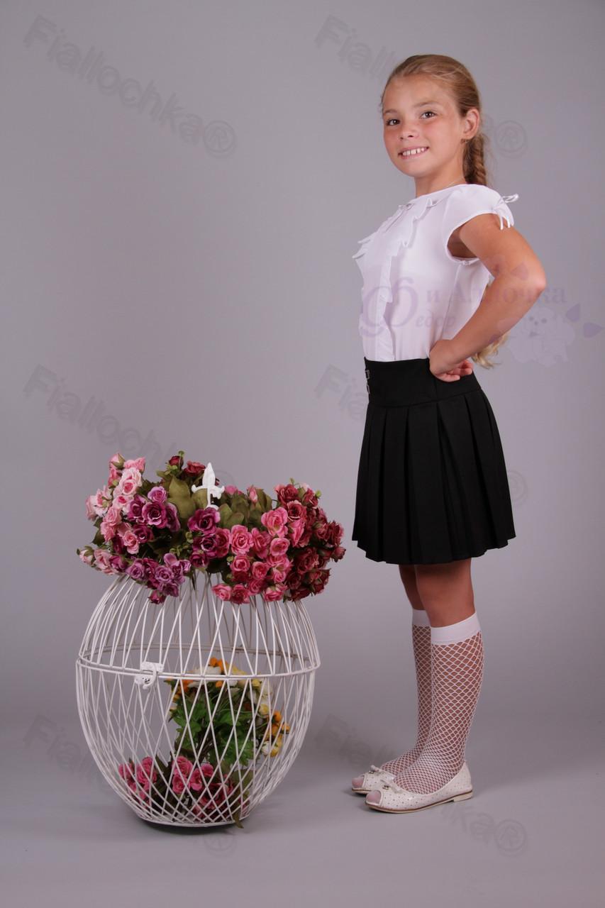 Юбка детская школьная 515-219 оптом Украина