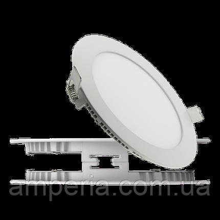 NIGAS Встраиваемый светильник светодиодный LED-NGS-41R 4500K 12W(вт), круг, фото 2
