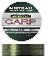 Леска Mistrall Amundson Carp 1000м 0.3мм-0.4мм