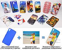Печать на чехле для HTC Desire 828 (Cиликон/TPU)