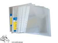 Прозрачные файлы EconoMix А4-b 100шт глянц 31106