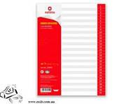 Розділювач А4 Optima  1-31 цифровий пласт 35805