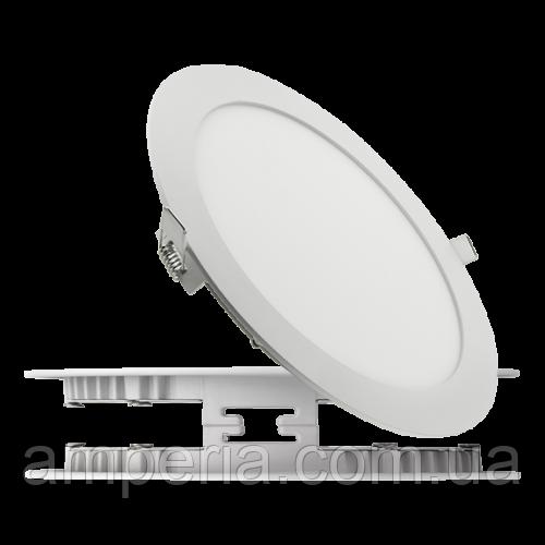 NIGAS Встраиваемый светильник светодиодный LED-NGS-41R 4500K 18W(вт), круг