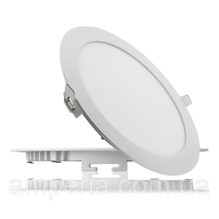 NIGAS Встраиваемый светильник светодиодный LED-NGS-41R 4500K 18W(вт), круг, фото 2