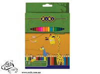 Набор цветных карандашей Zibi 18шт