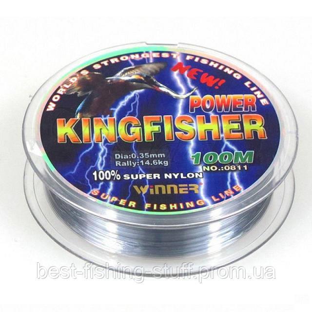 Леска Kingfisher 100м 0.18-0.6мм
