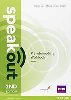 Speakout /2nd ed/ Pre-intermediate Workbook with Key