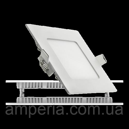 NIGAS Встраиваемый светильник светодиодный LED-NGS-41R 4500K 6W(вт), квадрат