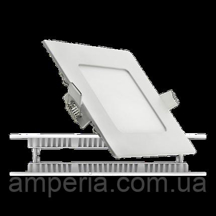 NIGAS Встраиваемый светильник светодиодный LED-NGS-41R 4500K 6W(вт), квадрат, фото 2