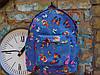 Рюкзак небесный с бабочками