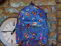 Рюкзак небесный с бабочками, фото 1
