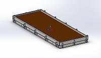 Форми для формування бетонних дорожніх плит, фото 1