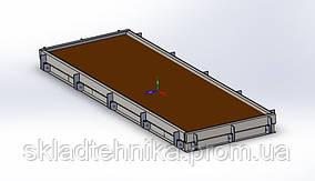 Форми для формування бетонних дорожніх плит
