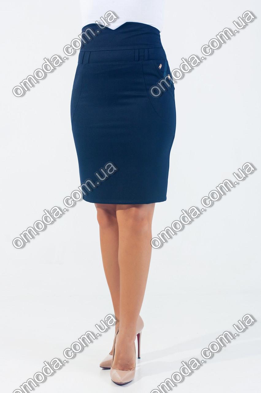 dfe66506a69 Классическая юбка с завышенной талией