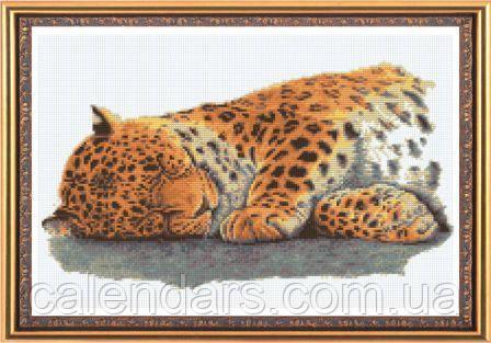 Набор для вышивания картины «Леопардик»