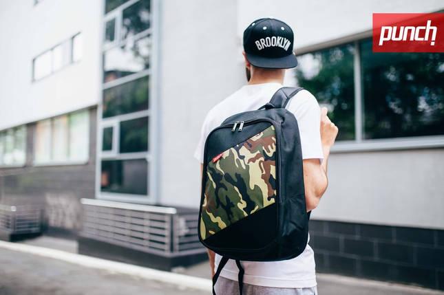 Рюкзак для города PUNCH BlackCamo, спортивный рюкзак, фото 2
