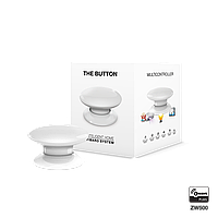 Кнопка управления Z-Wave FIBARO The Button white (белая) - FIBEFGPB-101-1
