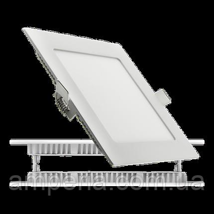 NIGAS Встраиваемый светильник светодиодный LED-NGS-41R 4500K 24W(вт), квадрат, фото 2