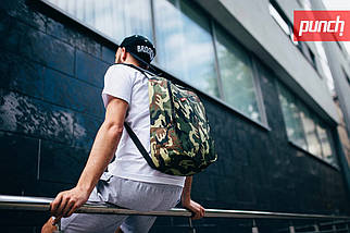 Городской рюкзак Punch Camo, спортивный рюкзак, фото 2