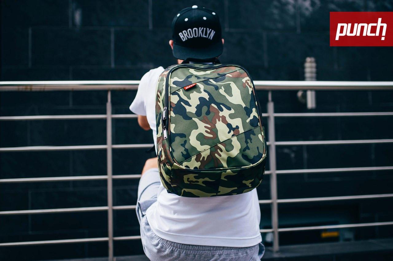 Городской рюкзак Punch Camo, спортивный рюкзак