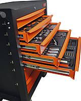 Тележка с набором инструментов для СТО,188шт. Kendo