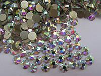 Акция! Стразы ss16 Crystal AB (4,0мм) 1440шт gold foil