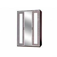 Шкаф 3Д Бася Новая олимпия глянец (Світ Меблів TM)